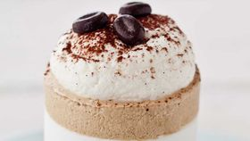 Iced coffee souffle