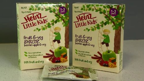 The court found the food giant mislead customers with its 'healthy' children's snack. (9NEWS)