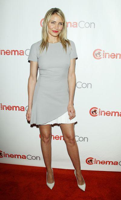 Actress Cameron Diaz at  Cinemacon in Las Vegas, March, 2014