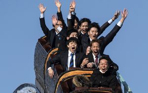 'No screaming' allowed on roller coasters as Japan theme parks reopen
