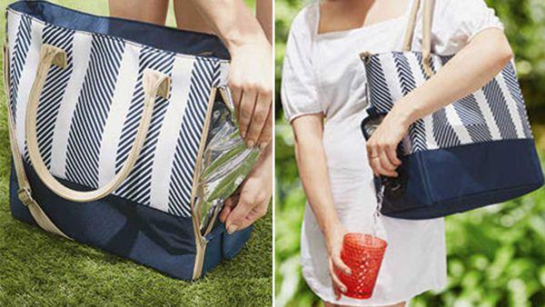 Aldi wine cooler tote bag