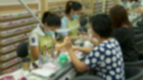 There are calls for higher standards of hygiene to be enforced on the nail salon industry.
