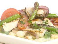 Barbecue tofu salad