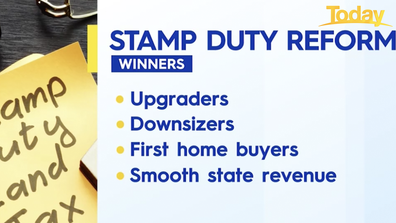 The winners of a stamp duty reform.