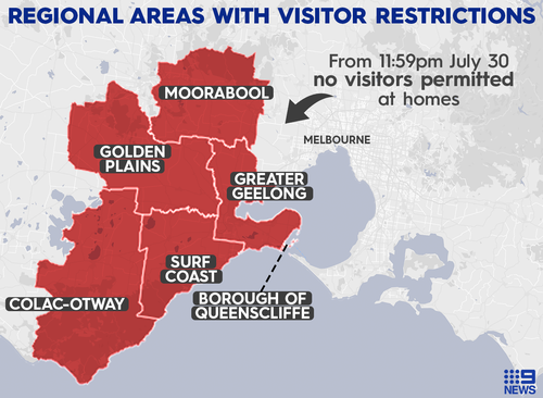 Australia's government to back Victoria's strict coronavirus lockdown