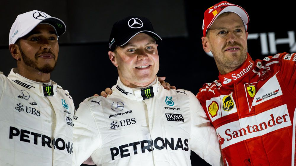 Formula One drivers including champion Lewis Hamilton slam new logo for 2018 season