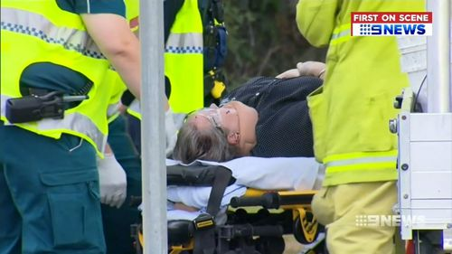 Two women were taken to hospital, but the ute driver escaped serious injury. Picture: 9NEWS