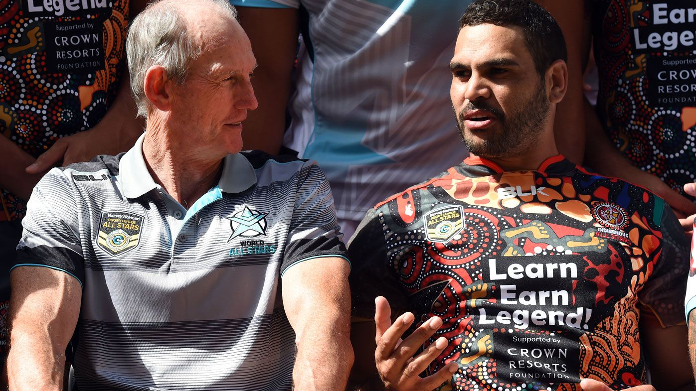 Greg Inglis reveals early retirement chat with Rabbitohs coach Wayne Bennett