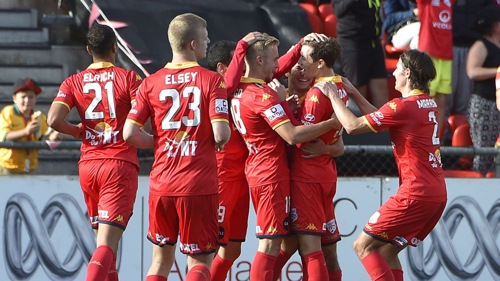 Reds rout 10-man Phoenix in A-League