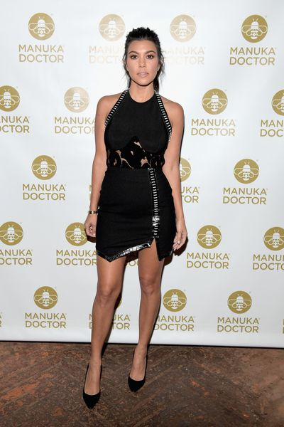 Kourtney Kardashian at a cocktail party for Manuka Doctor in West Hollywood, October, 2016