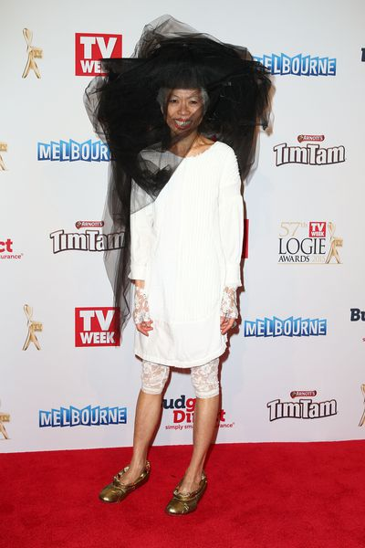 Lee Lin Chin at the 57th Annual Logie Awards  in Melbourne, Australia, May 2015