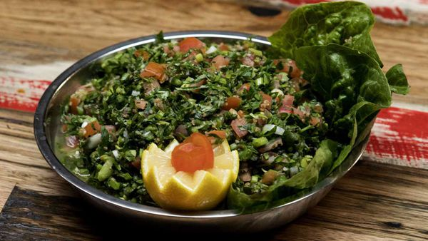 The Shahrouk sisters tabouli recipe
