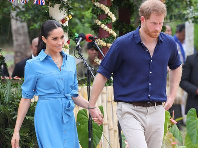 Prince Harry and Meghan Markle's royal cypher features on official Instagram account