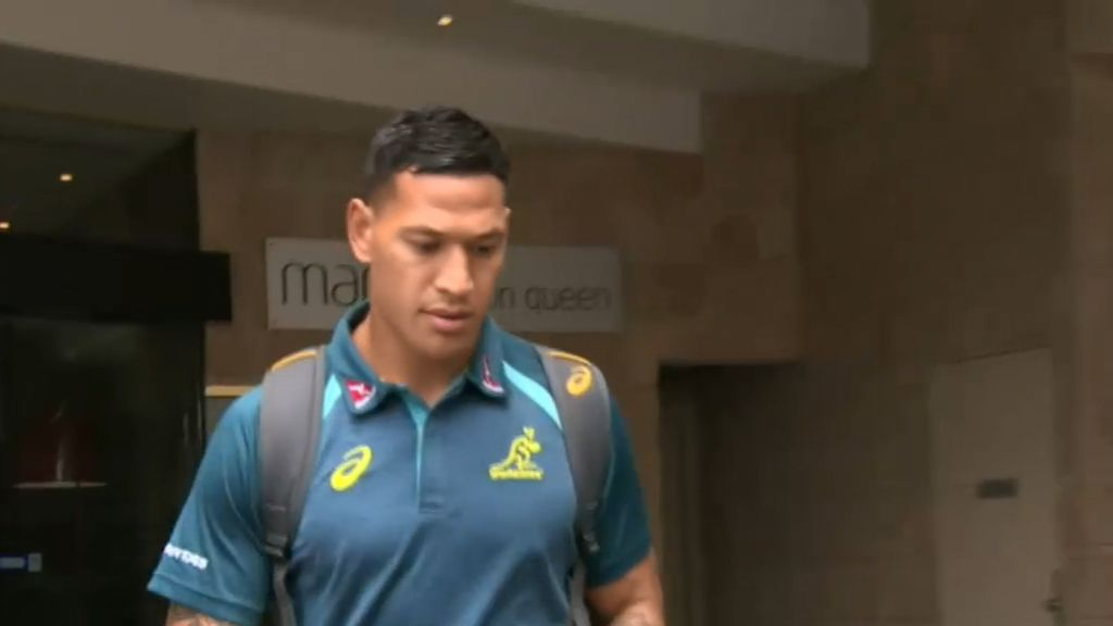 Israel Folau officially sacked by Rugby Australia