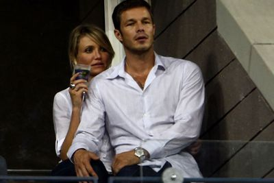 Cam dated tall, dark and handsome British model Paul Sculfor in 2008. What a hottie!<br/><br/>She also reportedly earned $50 million during late 2007 and early 2008, for her roles in <i>What Happens in Vegas</i> opposite Ashton Kutcher and voicing Princess Fiona in the <i>Shrek</i> sequels. Wowzer that's a lot!<br/><br/>(Image: Getty)