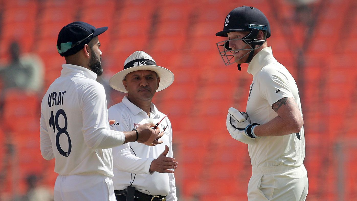 Virat Kohli and Ben Stokes separated by umpires after heated exchange in fourth Test