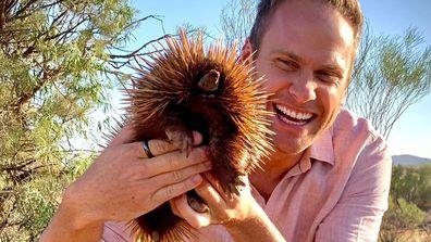 A spiky friend!