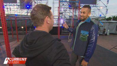 Tennis star serving up as guest commentator on Australian Ninja Warrior