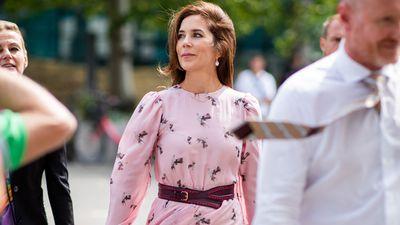 Princess Mary attends Copenhagen Fashion Week, August 2018