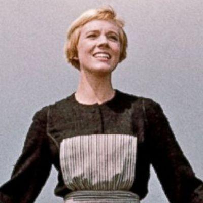 Julie Andrews as Fraulein Maria: Then