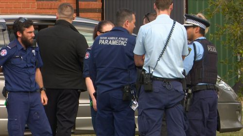 The baby landed on tiled floor and was rushed to hospital. The infant only sustained minor injuries. (9NEWS)