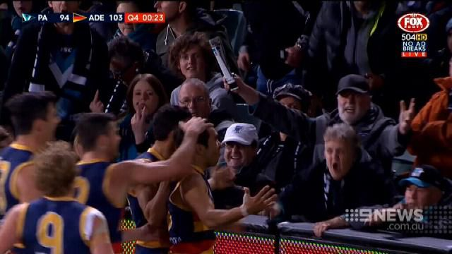 Concerns AFL banana-throwing was racially motivated