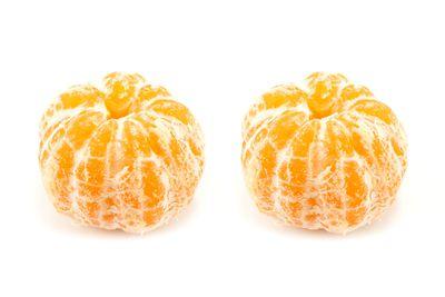 Two medium mandarins are 100 calories