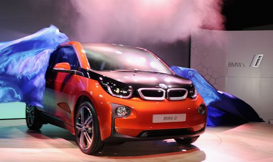 Bmw Launches First Electric Car 9finance