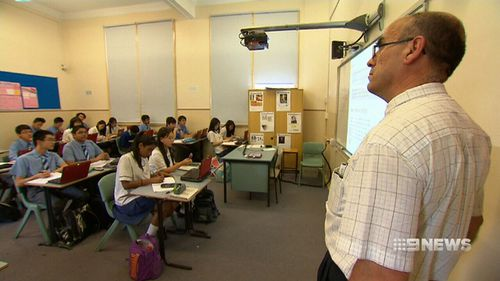 Australia has fallen in the international rankings for educational outcomes. (9NEWS)