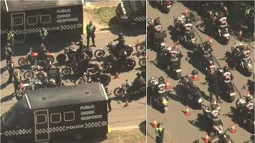 Bikies in Melbourne