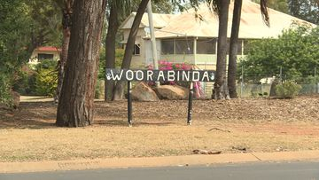 The town of Woorabinda is south-west of Rockhampton.
