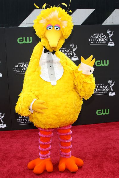 Big Bird at the 36th Annual Daytime Entertainment Emmy Awards in 2009 in LA.