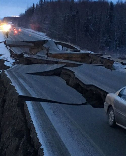 Southern Alaska is prone to earthquakes thanks to tectonic plates sliding past each other under the region.