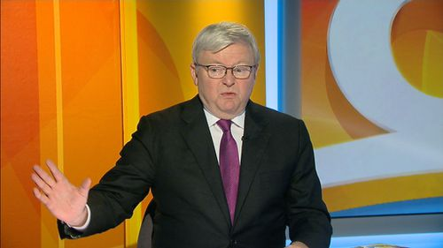 """Kevin Rudd tells TODAY Extra co-hosts the current NBN roll out is """"useless"""". (9NEWS)"""