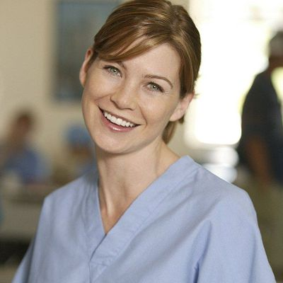 Ellen Pompeo as Meredith Grey: Then