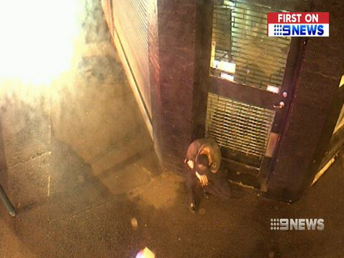 Fazal staggered towards an intersection where he was later found by police and rushed to hospital. Picture: 9NEWS.