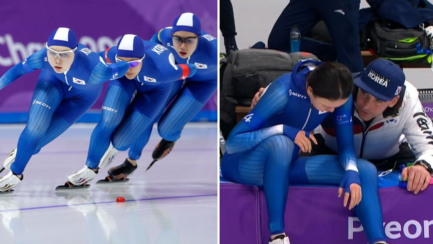 South Korean speed skaters accused of bullying teammate after finals exit