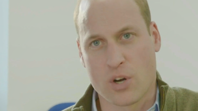 Prince William on BBC One documentary Football, Prince William And Our Mental Health.