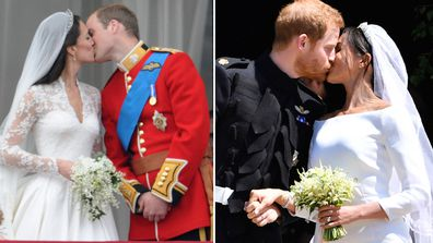 Kate Middleton Prince William Prince Harry Meghan Markle Royal Wedding