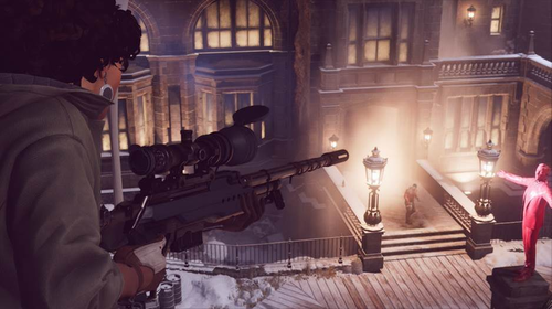 Players can also take control of the game's antagonist, Julianna Blake, in Deathloop's multiplayer mode.