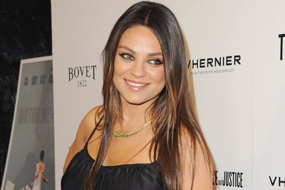 "Mila comes from Ukrainian stock, so it's pronounced ""Me-la Koo-nis"". Her birth name is Milena Markovna Kunis.<br/><br/>Image: Getty"