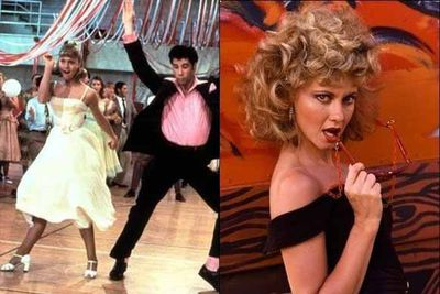 The ultimate movie makeover. So long, Sandra Dee… Hello sexy Sandy!