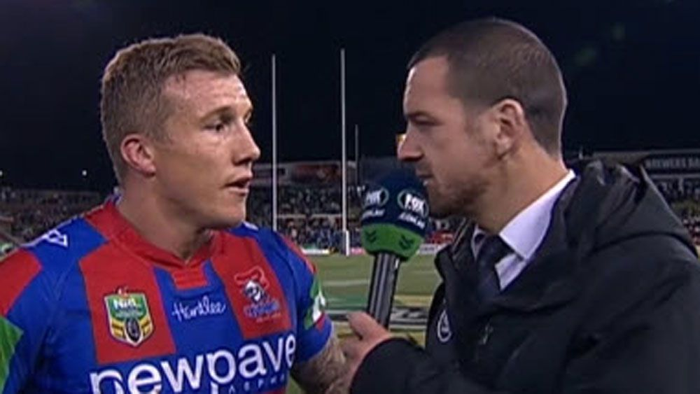 Hodkinson tells teammate 'you smell good'