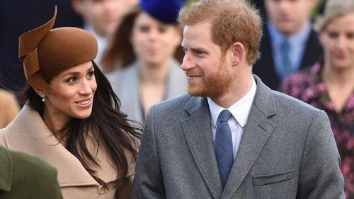 Meghan Markle and Prince Harry. (Joe Giddens/PA Wire)
