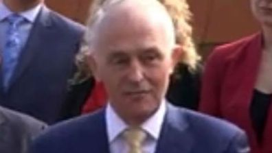 Even Malcolm Turnbull got in on the mullet action.