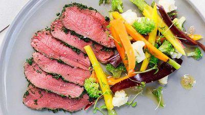 "Recipe:<a href=""http://kitchen.nine.com.au/2016/05/16/11/12/shannon-bennett-venison-carpaccio-with-pickled-vegetables"" target=""_top"">Shannon Bennett: Venison carpaccio with pickled vegetables</a>"