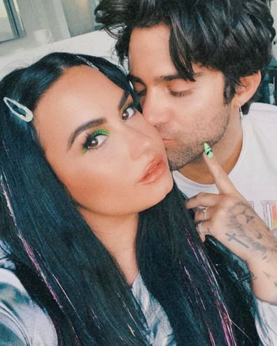 Demi Lovato, Max Ehrich, engagement