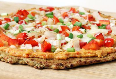 "Recipe: <a href=""https://kitchen.nine.com.au/2016/05/05/13/17/atkins-cauliflower-crust-pizza"" target=""_top"">Atkins cauliflower crust pizza</a>"
