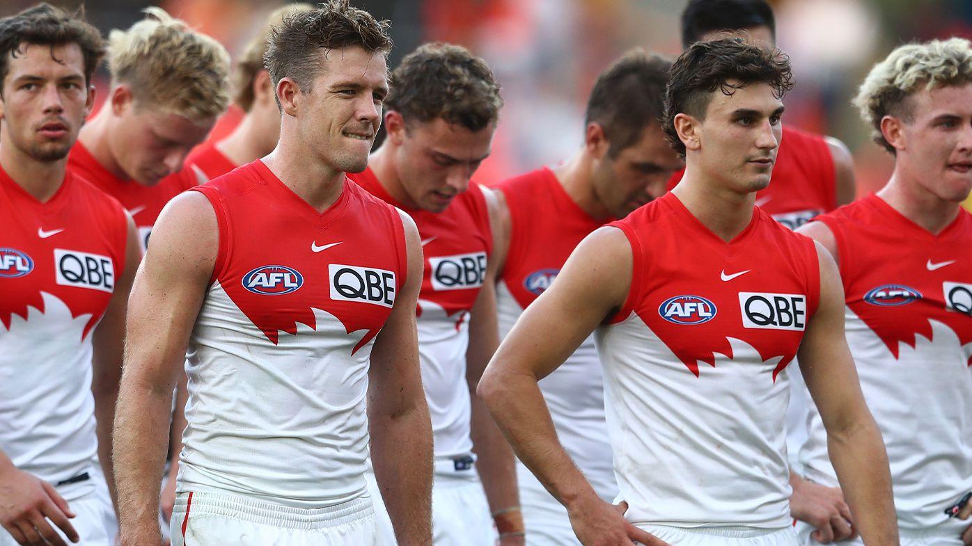 Sydney Swans' injury crisis even greater after George Hewett, Nick Blakey setbacks
