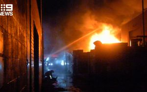 Firefighters had to 'cut through doors' to defeat raging Brunswick factory fire